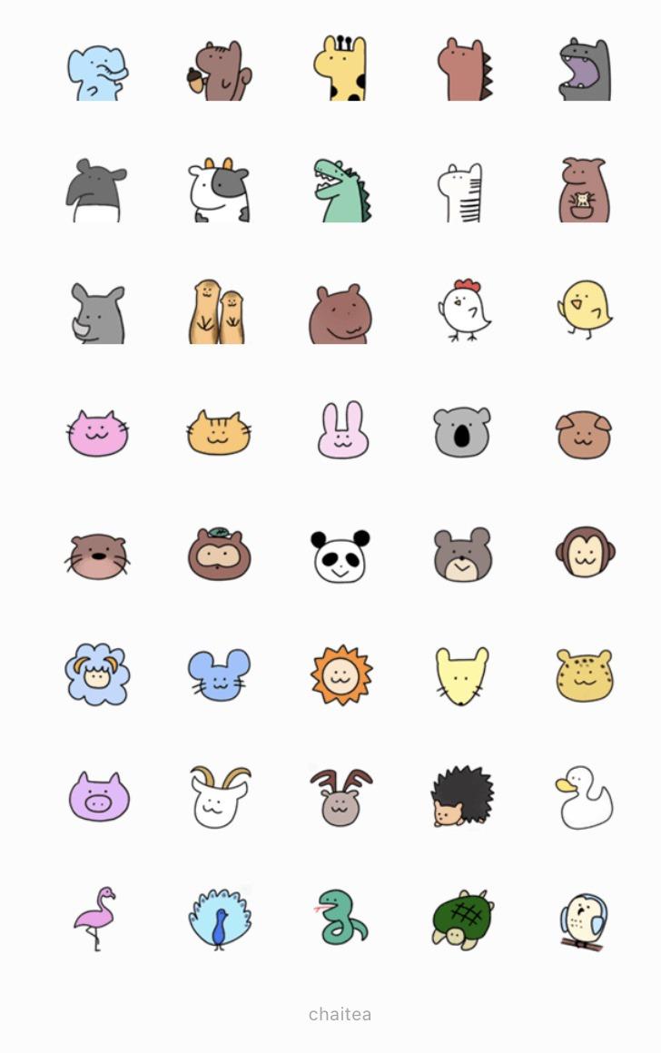 LINEemoji-animals-details